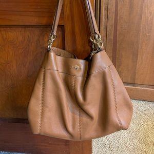 Coach Pebble Leather Lexy Shoulder Bag | EUC